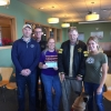 Elks Donate $5,700 - Benefiting the K9's on the front line and Maine Childrens Cancer