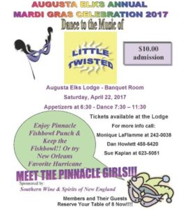 Mardi Gras Celebration - Dance to Little Twisted $10 admin @ Mardi Gras Celebration - Dance to Little Twisted $10 admin