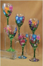 Paint your own Wine Glasses -  Wednesday, April 12, 2017 6:30 pm @ Come early enjoy dinner and a drink Doors open at 5:00 pm Paint your own Wine Glasses Augusta Elks Lodge