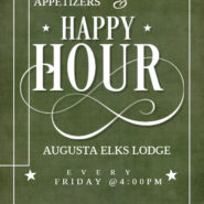Friday Is Happy Hour At The Elks