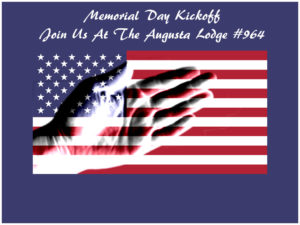 Kick-off to Memorial Day Celebration on Friday, May 26th, 2017 from 5:00 – 8:00 p.m. with Kerry Coffin providing Entertainment @ May 26th, 2017 from 5:00 – 8:00 p.m. with Kerry Coffin providing Entertainment