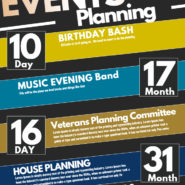 Oct 11th  Events Planning – 6:00PM