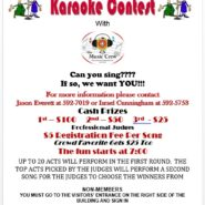 Birthday Bash December 1st In the Members' Lounge Karaoke Contest 7pm – 11pm