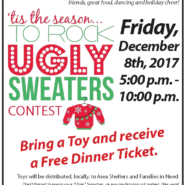 UGLY Sweaters Contest Fri,Dec 8th 5pm – 10pm