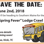 Lodge Crawl June 2nd 2018 More Details To Come!