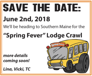 Lodge Crawl June 2nd 2018 More Details To Come! @ Lodge Crawl June 2nd 2018