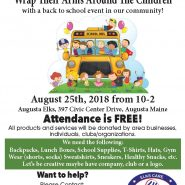 Jump On Board With The Augusta Elks August 25th, 2018 from 10-2 With a Back to School Event!