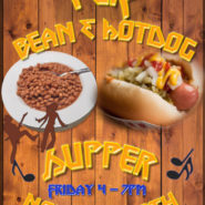 PER Hot Dog & Beans Supper Friday, November 9th 4-7pm