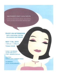 Mother's Day Luncheon @ See Flyer for Details