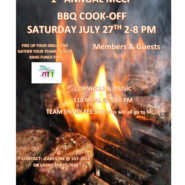 BBQ Cook Off 2pm – 8pm Saturday July 27th