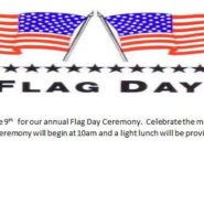 Flag Day 10am June 9th Light Lunch