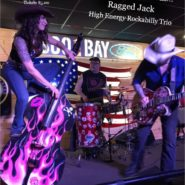 Ragged Jack – High Energy Rockabilly Trio Nov9th 7-11pm doors open at 6pm $8per