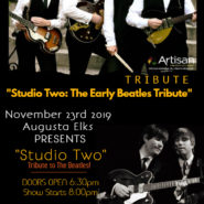 Studio Two – A Beatles Tribute Band, Nov 23rd, Doors Open 6:30pm Show starts at 8:pm