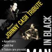 Feb 8th Man In Black, Doors open at 6pm, Show Starts at 7PM  Tickets $15