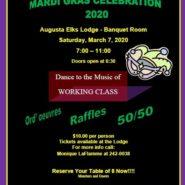 Mardi Gras Celebration 2020 Sat, March 7th 7-11pm