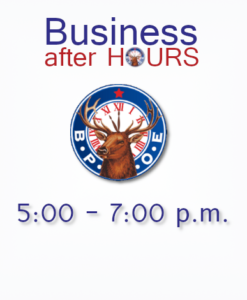 February 26 at Augusta Elks Lodge #964 Host KV Chamber Of Commerce after HOURS 5-7pm @ Gives members an opportunity to show off their business, what they do and how they do it. Provides valuable KVCC networking opportunities for all who attend.