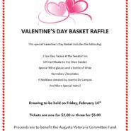 Valentines Day Basket Raffle  Tickets available