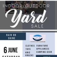 June 6th Yard Sale 8am-2pm