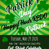 St. Patricks Day Redo, Happy Hour, Potluck, Food and Drink Specials