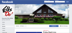 Friday Facebook Events @ See Facebook for events
