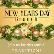 New Years Day Brunch 10:30am Doors open at 10am